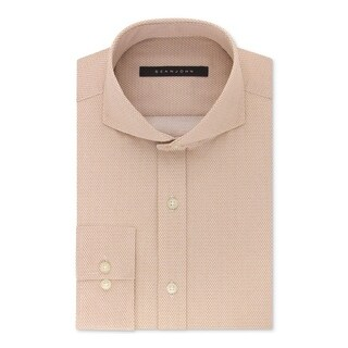 Sean John Mens Dress Shirt Printed Tailored Fit (3 options available)