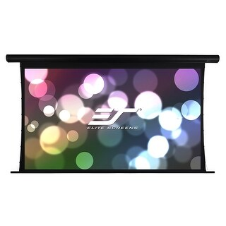 "Elite Screens SKT120UH-E20-AUHD 120"" Diagonal Saker Tab-Tension AcousticPro UHD Projector Screen"