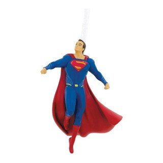 Hallmark 2HCM1016 Superman Christmas Ornament, Multicolored