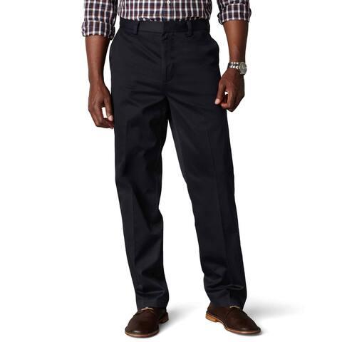 Dockers Mens Pants Blue Navy Size 44x32 Signature Khakis Classic Fit