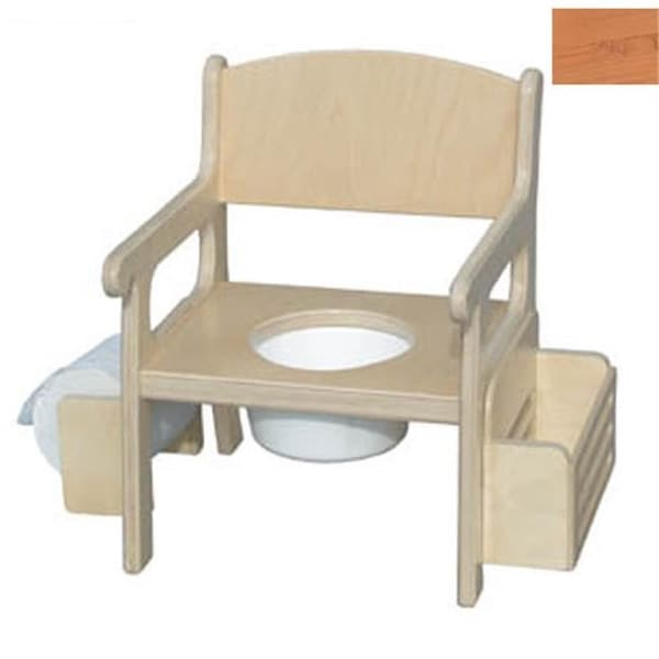 Little Colorado Handcrafted Potty Chair with Accessories in Natural