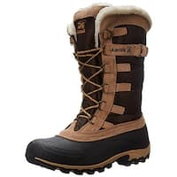 Kamik Womens Snowvalley Snow Boots Faux Fur Lined Waterproof