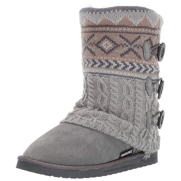 7f087d45dc367e Shop MUK LUKS Women s Cheryl Boots Fashion - Free Shipping On Orders ...