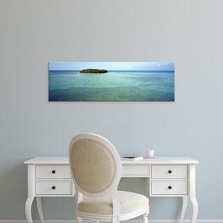 Easy Art Prints Panoramic Images's 'Bahia Honda Key Florida Keys FL' Premium Canvas Art