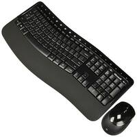Microsoft PP4-00001 Wireless Comfort Desktop 5050 w/ USB Wireless RF 104 Key - English