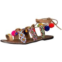 Sam Edelman Womens Lisabeth Open Toe Casual Strappy Sandals