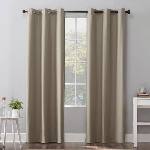 Sun Zero Cyrus Thermal Total Blackout Grommet Curtain Panel