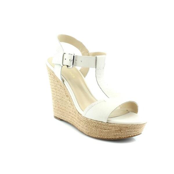 Marc Fisher Harlei Women's Sandals & Flip Flops Ivory