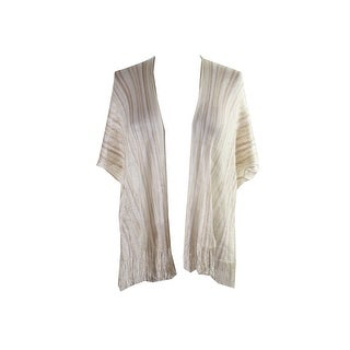 Collection Xiix Camel Striped Kimono OS