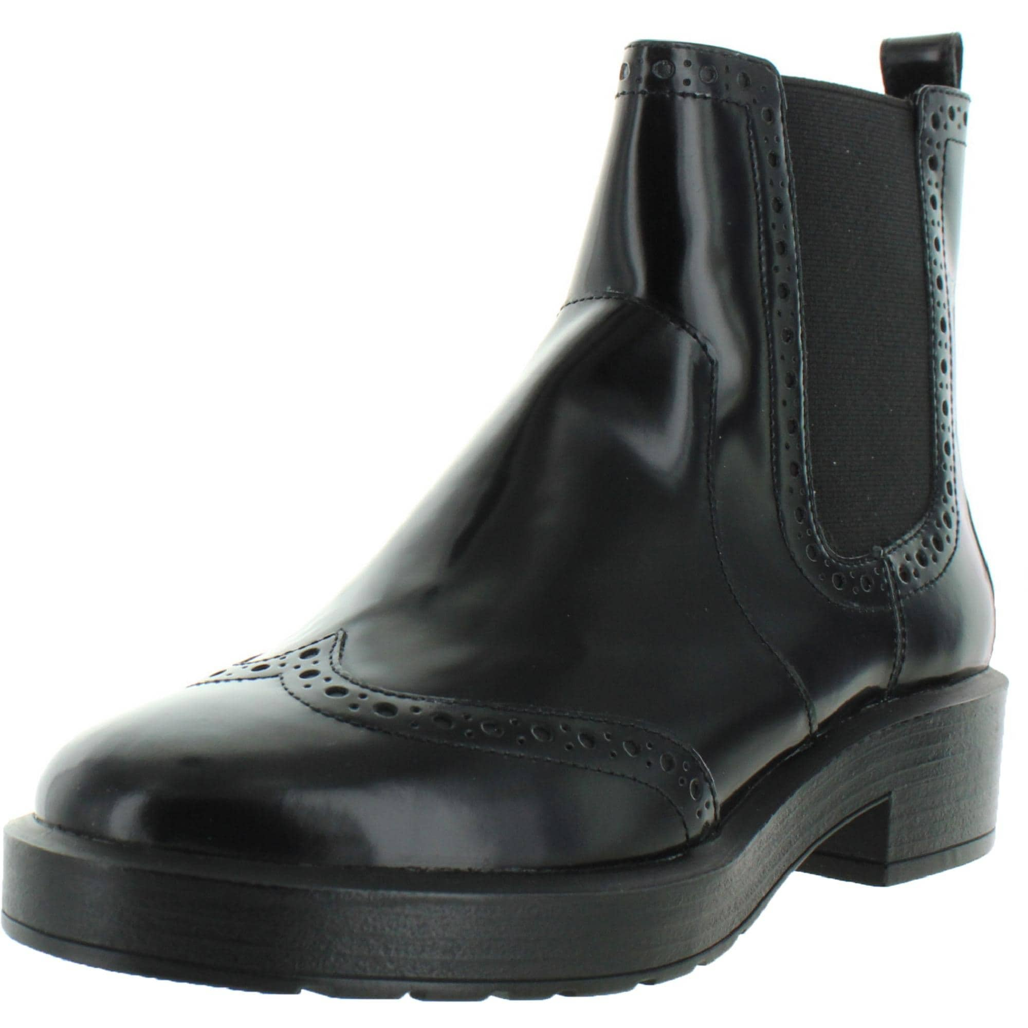 visa De nada Cuota  Geox Respira Womens Kenly Oxford Boots Patent Leather Ankle - Black -  Overstock - 32054013
