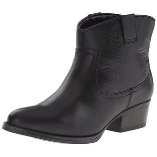 Kenneth Cole Reaction Womens Hot Step Leather Closed Toe Ankle Fashion Boots