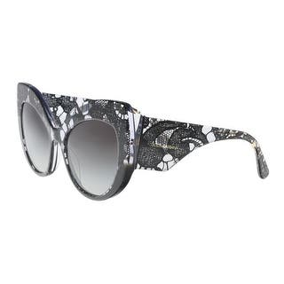 dbf30e219bd Dolce   Gabbana DG4321 31528G Black Gradient Cat Eye Sunglasses - 55-20-140