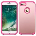 Insten Hard PC/ Silicone Dual Layer Hybrid Rubberized Matte Case Cover For Apple iPhone 7 - Thumbnail 1