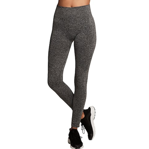 Maidenform Baselayer Thermal Legging - Color - Charcoal Grey Heather - Size - L
