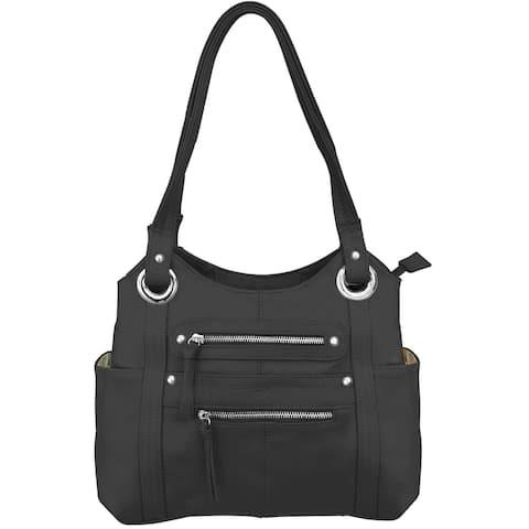 Womens Conceal Carry Gun Purse Shoulder Tote CCW Handbag - One Size