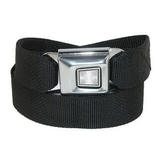 Buckle Down Plain Seatbelt Buckle Adjustable Belt