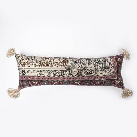 Cottage Home Garne Extra Long Bolster Pillow