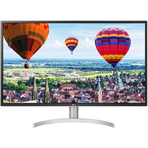 "LG 32QK500-C 1440p 31.5"" IPS FreeSync Monitor,Silver"