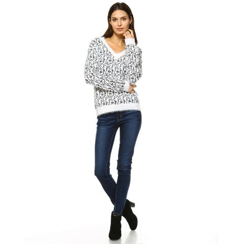 Leopard Sweater - Grey