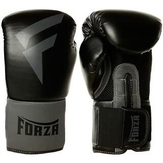 Forza Sports Vinyl Boxing Training Gloves - Black/Gray (4 options available)