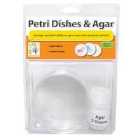 Petri Dishes & Agar Set Of 3