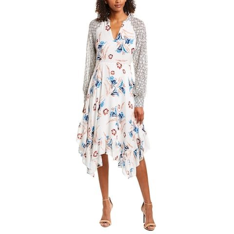 Joie Morley Silk Midi Dress