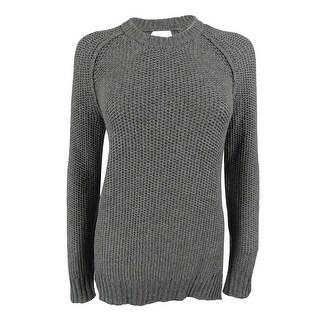 Rachel Roy Women's Open-Back Wool-Blend Knit Sweater