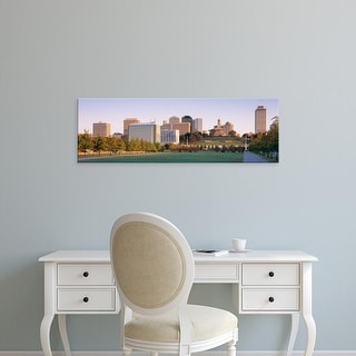 Easy Art Prints Panoramic Images's 'Nashville TN' Premium Canvas Art