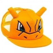 Pokemon Charizard Big Face Snapback Trucker Hat Baseball Cap