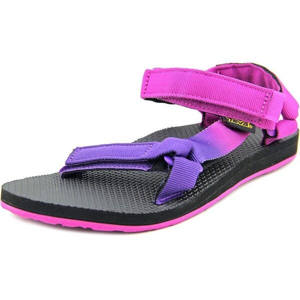 Teva Original Universal Gradient Women Open-Toe Canvas Purple Sport Sandal