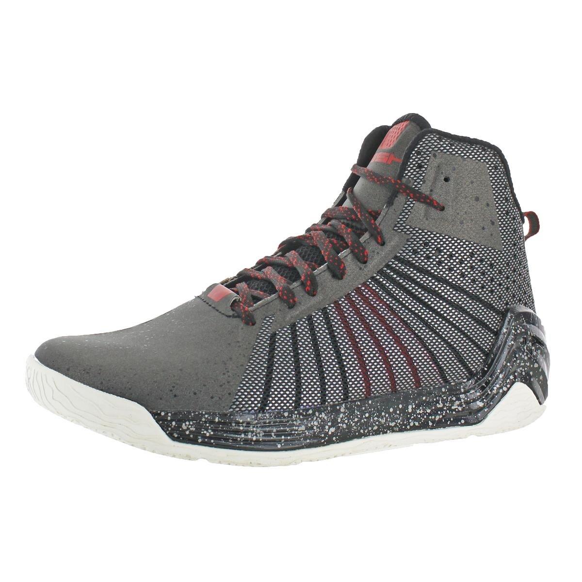Reebok Mens Instapump Fury OB Cut Out Lightweight Basketball Shoes