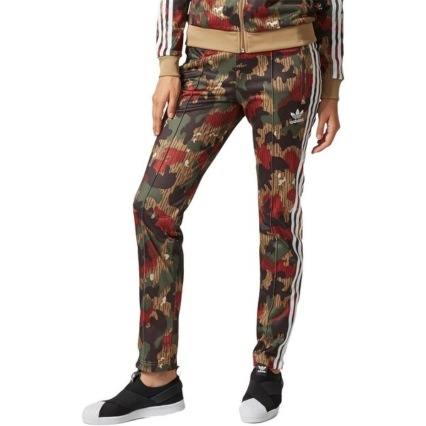 4e8b92170 Shop adidas Originals Womens Pharrell Williams Athletic Pants Camo ...