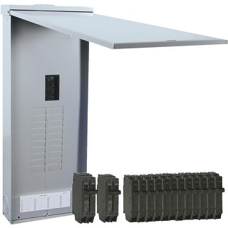 GE 200A Outdoor Load Center