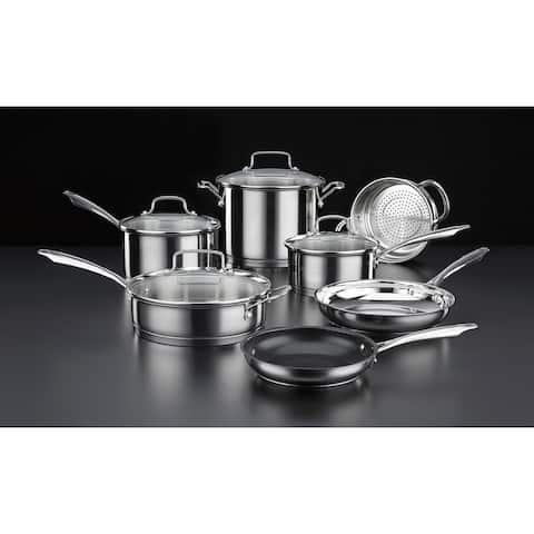 Cuisinart Professional Series Stainless Cookware 11pc. Set - Stainless Steel