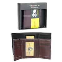 Stitch Design Trifold Wallet