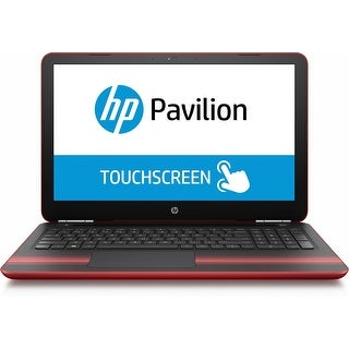 """Manufacturer Refurbished - HP Pavilion 15-aw005cy 15.6"""" Touch Laptop AMD A9-9410 2.9GHz 6GB 1TB Windows 10"""