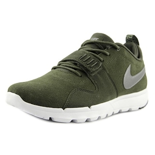 Nike Trainerendor L Men Round Toe Suede Green Trail Running