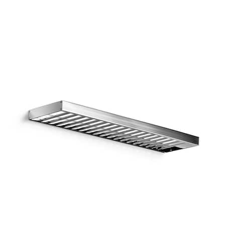 """WS Bath Collections Skuara 52844.29 15.7"""" x 5.3"""" Towel Shelf from the Skuara Collection"""