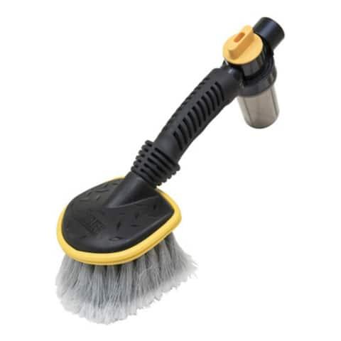 Quickie 275BZGM-6 Soft Fiber Flow Through Scrub Versatile Brush