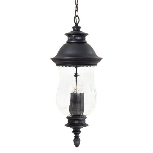 The Great Outdoors GO 8904 4 Light Lantern Pendant from the Newport Collection