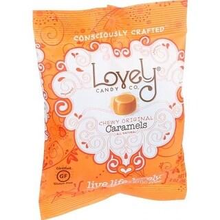 Lovely Candy - Original Caramels ( 12 - 2 OZ)