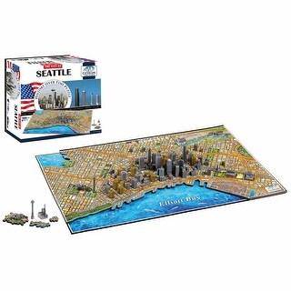 4D Cityscape Puzzle - Seattle - MultiColor