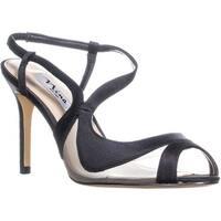 Nina Womens Regina Peep Toe Ankle Strap D-orsay Pumps - 9