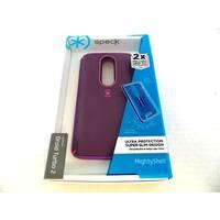 Speck MightyShell Case for Motorola Droid Turbo 2 - Purple/Pink/Revolution