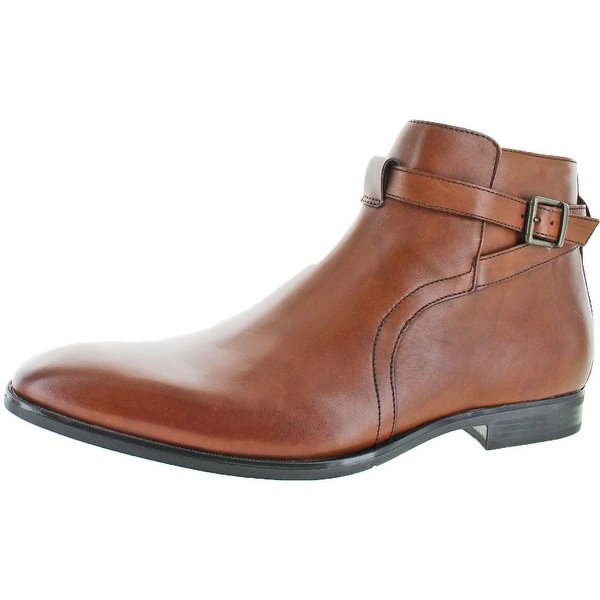 Geox U New Life Men's Leather Buckle Dress Boots