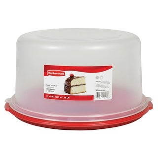 "Rubbermaid 1777191 Cake Keeper, 7""H x 13""Dia"