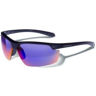 Gargoyles Stakeout Sunglasses Matte Black Frame/Smoke w/ Plasma Mirror Lens