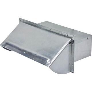 """Lambro 106R Wall Cap Damper, 3-1/4"""" x 10"""", Aluminum"""