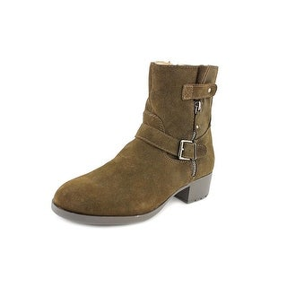 Ellen Tracy Penny Women Round Toe Suede Ankle Boot