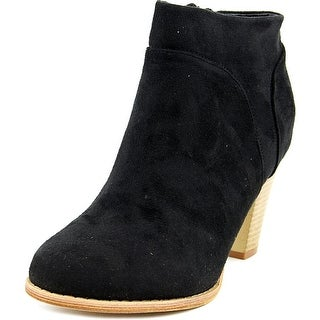 Riverberry Chloe-01   Round Toe Suede  Ankle Boot